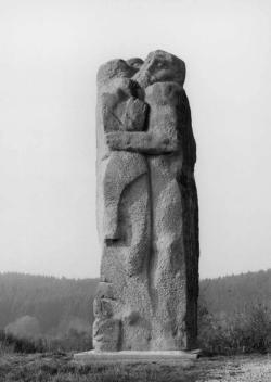 Namborn-Baltersweiler, Schwabe, Skulptur