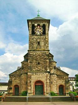 Ensdorf, Pfarrkirche St. Marien