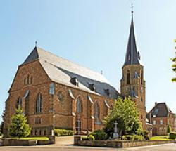 Lebach-Gresaubach, Pfarrkirche Herz Jesu
