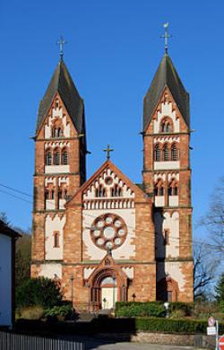 Mettlach, Pfarrkirche St. Lutwinus