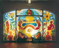 Saarlouis, Boro, Glaswand