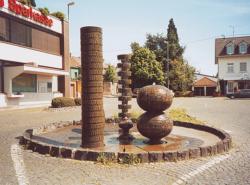 Saarlouis, Fontaine, Brunnen