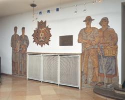 Saarlouis, Zolnhofer (?), Wandgestaltung