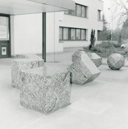 Saarlouis, Kornbrust, Skulpturengruppe