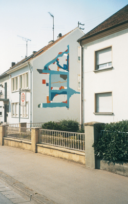 Saarlouis, Maul, Fassadengestaltung