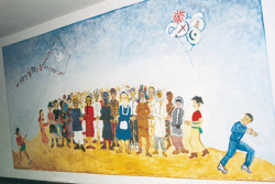 Saarlouis, Shalhevet, Kunstpädagogisches Projekt