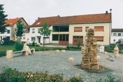 Saarlouis, Zapp, Brunnen und Platzgestaltung