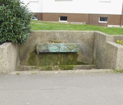 """Bous, Unbekannt, Brunnen (ehem. """"Schankburn 'Uff da Schooße'"""")"""
