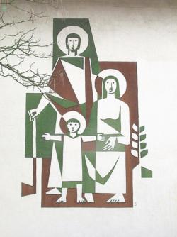 Bous, Selgrad (?), Fassadengestaltung