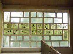 Dillingen, Fontaine (?), Fenstergestaltung