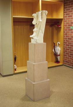 Dillingen, Oliberius, Skulptur