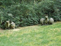Ensdorf, Hiery, Skulpturen