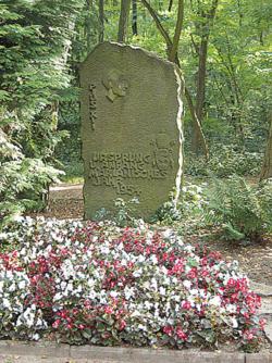 Ensdorf, Zapp, Gedenkstein