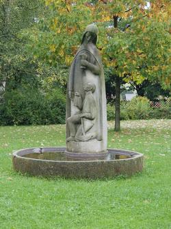 Lebach, Brauner, Brunnen