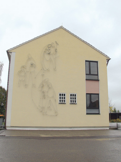 Lebach, Brauner, Fassadengestaltung