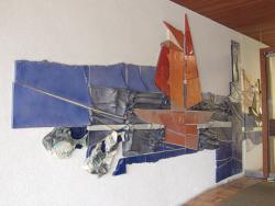 Lebach, Weiand, Wandgestaltung
