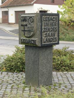 Lebach, Unbekannt, Wappenstein