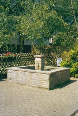 Rehlingen-Siersburg, Fontaine, Brunnen