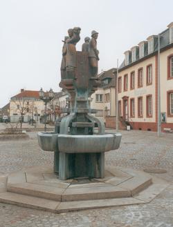 Saarwellingen, Steines, Brunnen