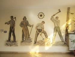 Schmelz, Back, Wandmalerei