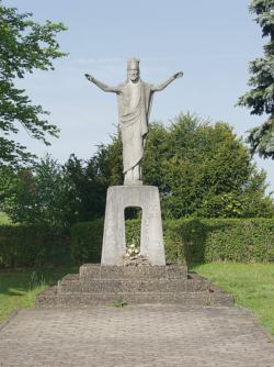 Schmelz, Unbekannt, Christkönig-Figur