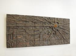 Schwalbach, Busche, Wandgestaltung