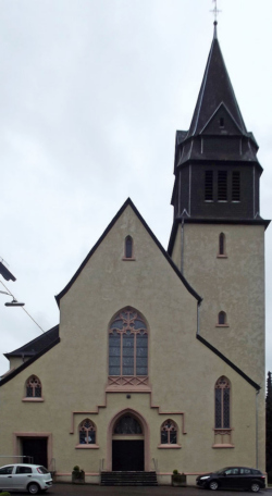 Pfarreiengemeinschaft Oberthal-Namborn Oberthal - Oberthal,  Katholische Pfarrkirche St. Stephanus