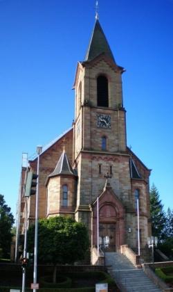 St. Ingbert-Rohrbach, Pfarrkirche St. Johannes Baptist