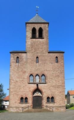 Neunkirchen, Wiebelskirchen-Hangard-Münchwies,  Pfarrkirche Herz Jesu