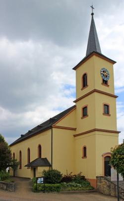 Merzig-Mondorf, Pfarrkirche St. Johannes der Täufer