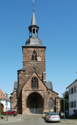 Saarbrücken-Mitte, St. Arnual, Stiftskirche