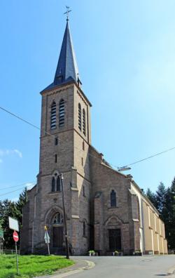 Neunkirchen, Wiebelskirchen-Hangard-Münchwies, Pfarrkirche Heilige Familie
