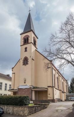 Saarbrücken, West, Gersweiler,  Pfarrkirche St. Michael