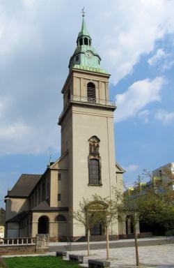 Neunkirchen-Wiebelskirchen, Pfarrkirche Zur Heiligsten Dreifaltigkeit, Wallfahrtskirche