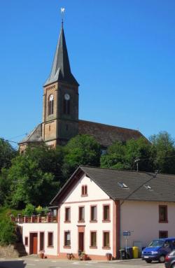 Losheim am See-Britten, Pfarrkirche St. Wendalinus