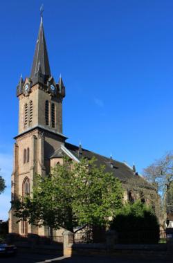 Spiesen-Elversberg, Evangelische Kirche