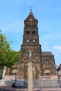 Neunkirchen, Pfarrkirche St. Marien bzw. Mariä Himmelfahrt