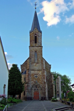 Rehlingen-Siersburg, Eimersdorf , Pfarrkirche St. Margareta