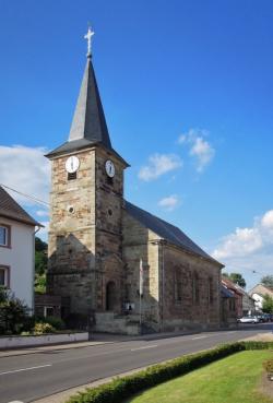 Überherrn-Bisten, Pfarrkirche St. Peter