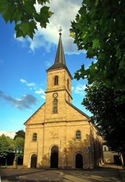 Dillingen, Pfarrkirche St. Johannes Baptist