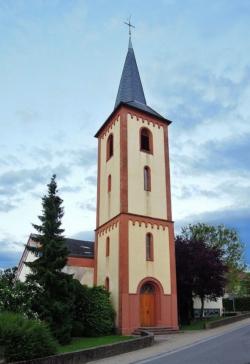 Rehlingen-Siersburg, Gerlfangen,  Pfarrkirche Kreuzerhöhung