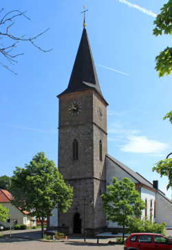 Freisen-Oberkirchen, Katholische Pfarrkirche St. Katharina
