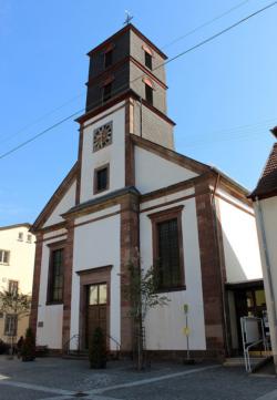 Ottweiler,  Pfarrkirche Mariä Geburt und St. Terentius