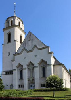 Saarbrücken, West, Altenkessel - Rockershausen,  Pfarrkirche St. Elisabeth