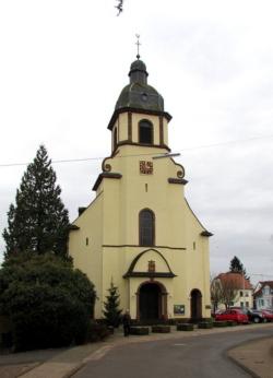 Merzig-Schwemlingen, Pfarrkirche St. Laurentius