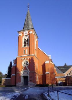 Wadern, Löstertal, Kostenbach  Pfarrkirche Heiligstes Herz Jesu