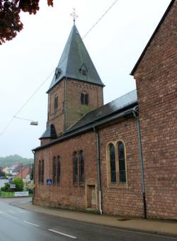 Eppelborn-Humes, Pfarrkirche Mariä Himmelfahrt