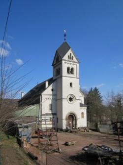 Saarbrücken-Halberg, Brebach, Alte Kirche bzw. Stumm-Kirche