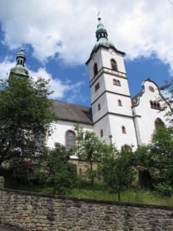 Saarbrücken-Halberg-Ensheim, Pfarrkirche St. Petrus, zum Bistum Speyer zugehörig