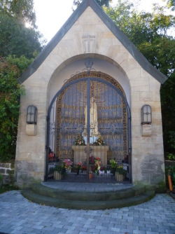 Neunkirchen-Wiebelskirchen, Kapelle Unsere Liebe Frau von Fatima, Wallfahrtsstätte